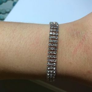 Bought in Australia, rose gold tennis bracelet